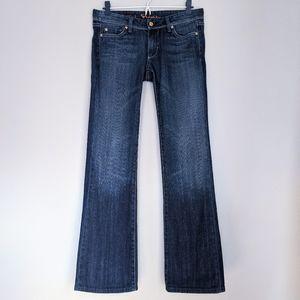 Fidelity Juniper Japanese Denim Skinny Boot Jeans